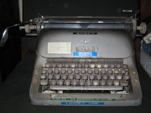 Mom's typewriter