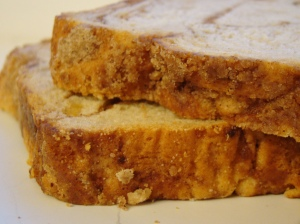Apple Cinamon Bread BY Janet Hudson ON Flickr