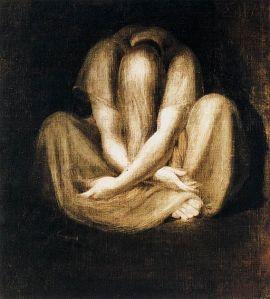 """""""Silence"""" by Johann Heinrich Füssli"""