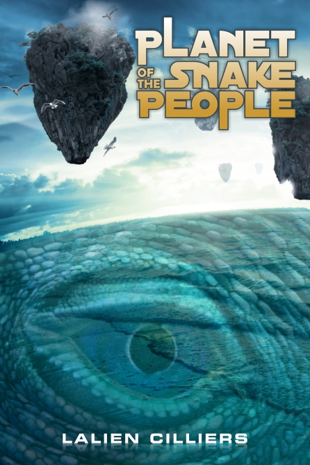 Planet of the snake people_LalienCilliers_BookCover
